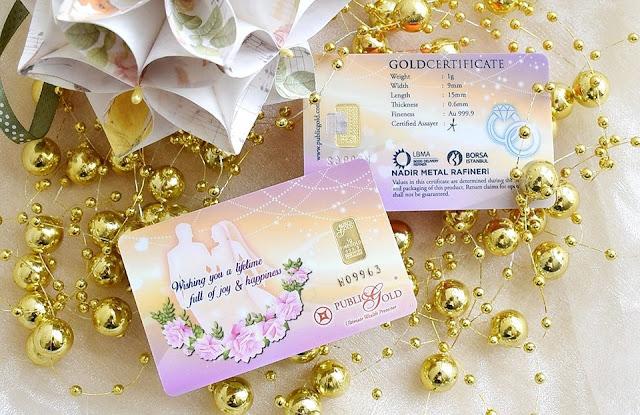 jongkong emas 1g edisi perkahwinan