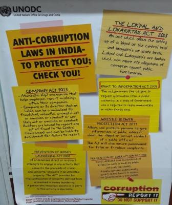 Anti-Corruption Laws in India to Protect You; Check You!