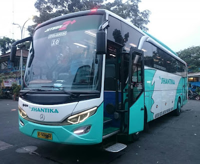 Foto Bus New Shantika 10