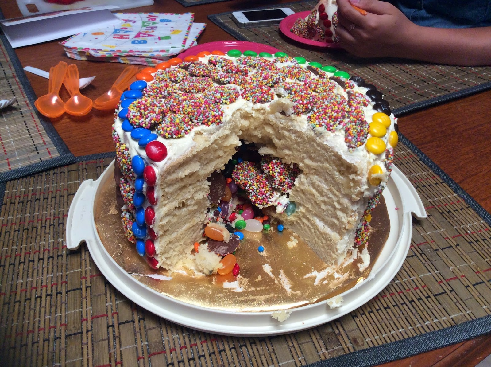 Bens Big Blog Gluten Free Piata Cake Recipe