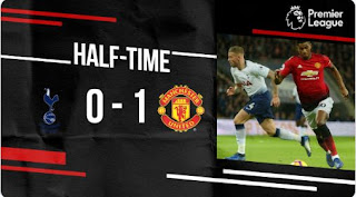 HT: Tottenham Hotspur vs Manchester United 0-1 Highlights