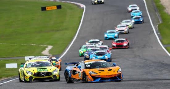 Doppelsieg für McLaren in ADAC GT4 Germany am Nürburgring am Samstag