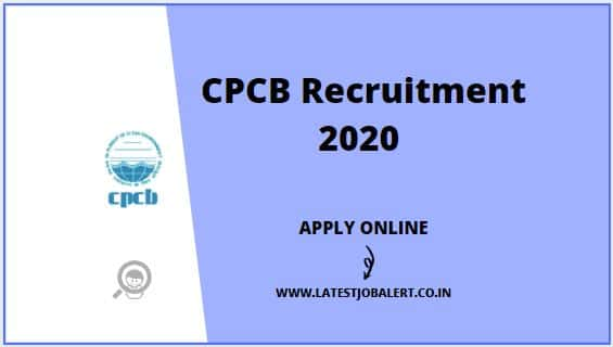 CPCB Recruitment 2020 for Engineers, Assistants & Other Posts online form