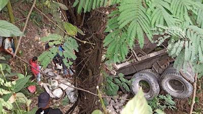 Supir Truk Pengangkut Batu Jatuh ke Jurang di Toba Tewas, Begini Kondisinya