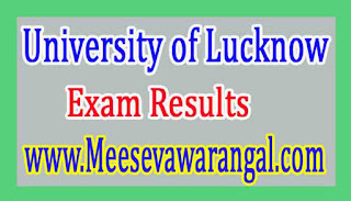 University of Lucknow BA Part-1 Honors Supply 2016 Exam Results