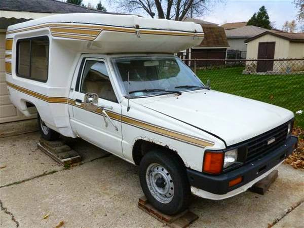 Used Rvs 1986 Toyota Bandit Rv Camper For Sale By Owner