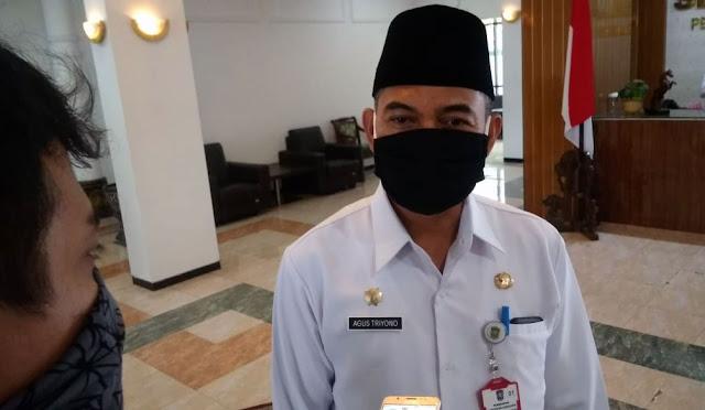 Sekda sekaligus Ketua Gugus Tugas Covid-19 Lumajang, Agus Triyono