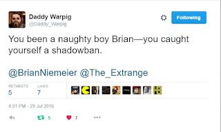 Daddy Warpig tweet 1
