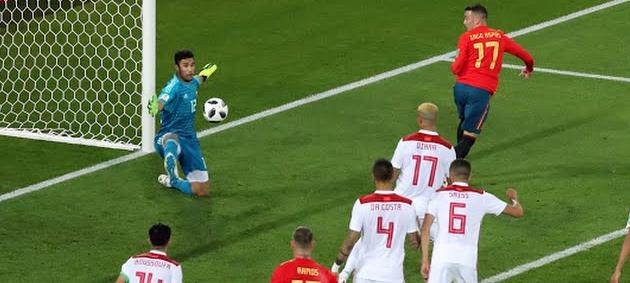 Video Highlights: Spanyol Vs Maroko 2-2