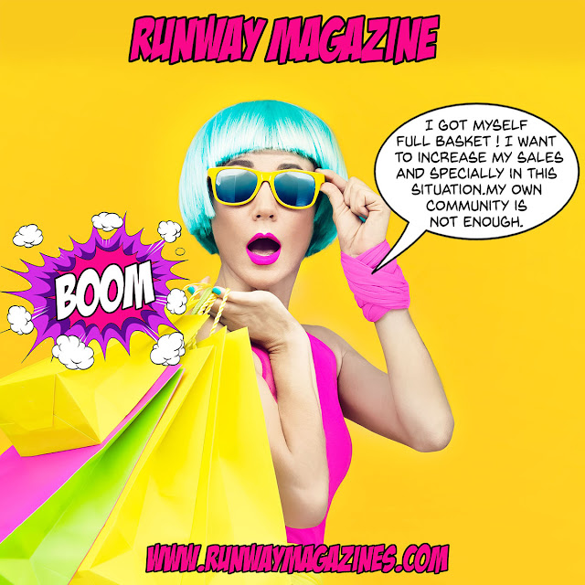 Increase sales with RUNWAY MAGAZINE