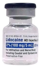 gafacom image for lidocaine
