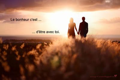 texte d'amour romantique