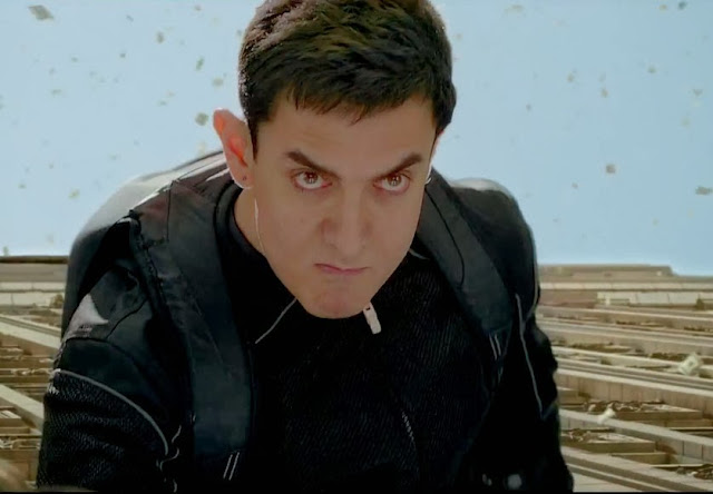 Aamir Khan Latest Photos In Dhoom 3 Movie
