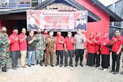 Jelang Pilkada, Kapolres Bersama Dandim Sumbawa Barat Sambangi Sejumlah Ketua Parpol