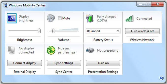Centro de movilidad de Windows [mblctr.exe] Envíe el contenido de su Pc a su Smart Tv
