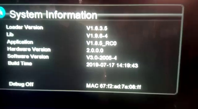 GX6605s 5815 v4.1 New Software Ten Sports OK 17.07.2019