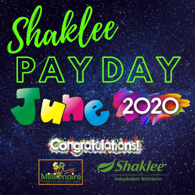 Bonus Shaklee Team SRM Jun 2020