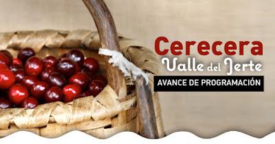 CERECERA 2018, Valle del Jerte. Avance de programación