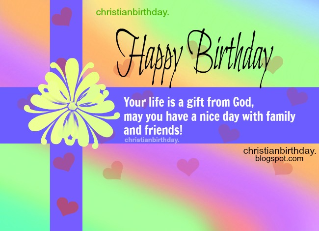 Spiritual birthday quotes for men, for friends, for brothers, christian quotes and images on birthday by Mery Bracho