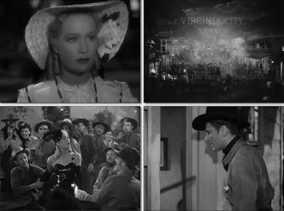Virginia City (1940) Oro, Amor y Sangre - español y versión original con subtítulos en español.
