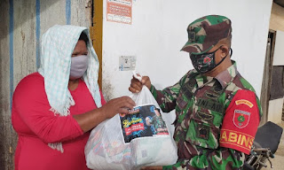 Peduli,Mayjen TNI Andi Sumangerukka Bantu Suku Bajau di Kendari