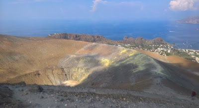 Views of the Gran Cratere of Vulcano