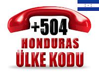 +504 Honduras ülke telefon kodu