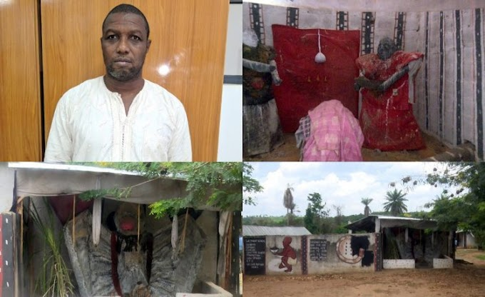 Fake Babalawo Arrested By The EFCC Over N250m Juju Scam