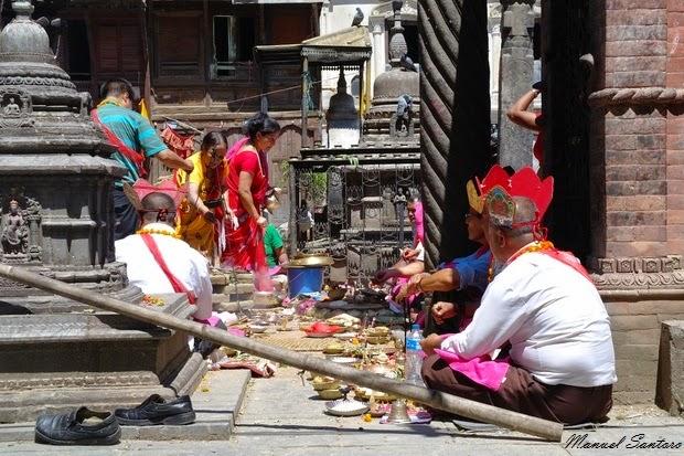 Kathmandu, Tempio di Seto Machhendranath