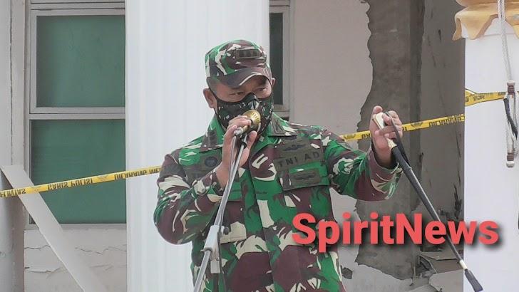 Pangdam Hasanuddin Melalui Dandim 1418/Mamuju : Satuan TNI AD Siap Bergerak Kapan Saja.