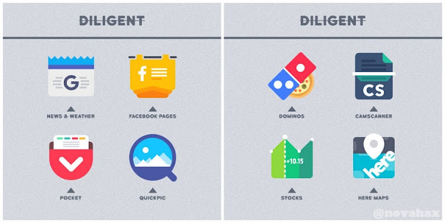 Diligent icon pack APK