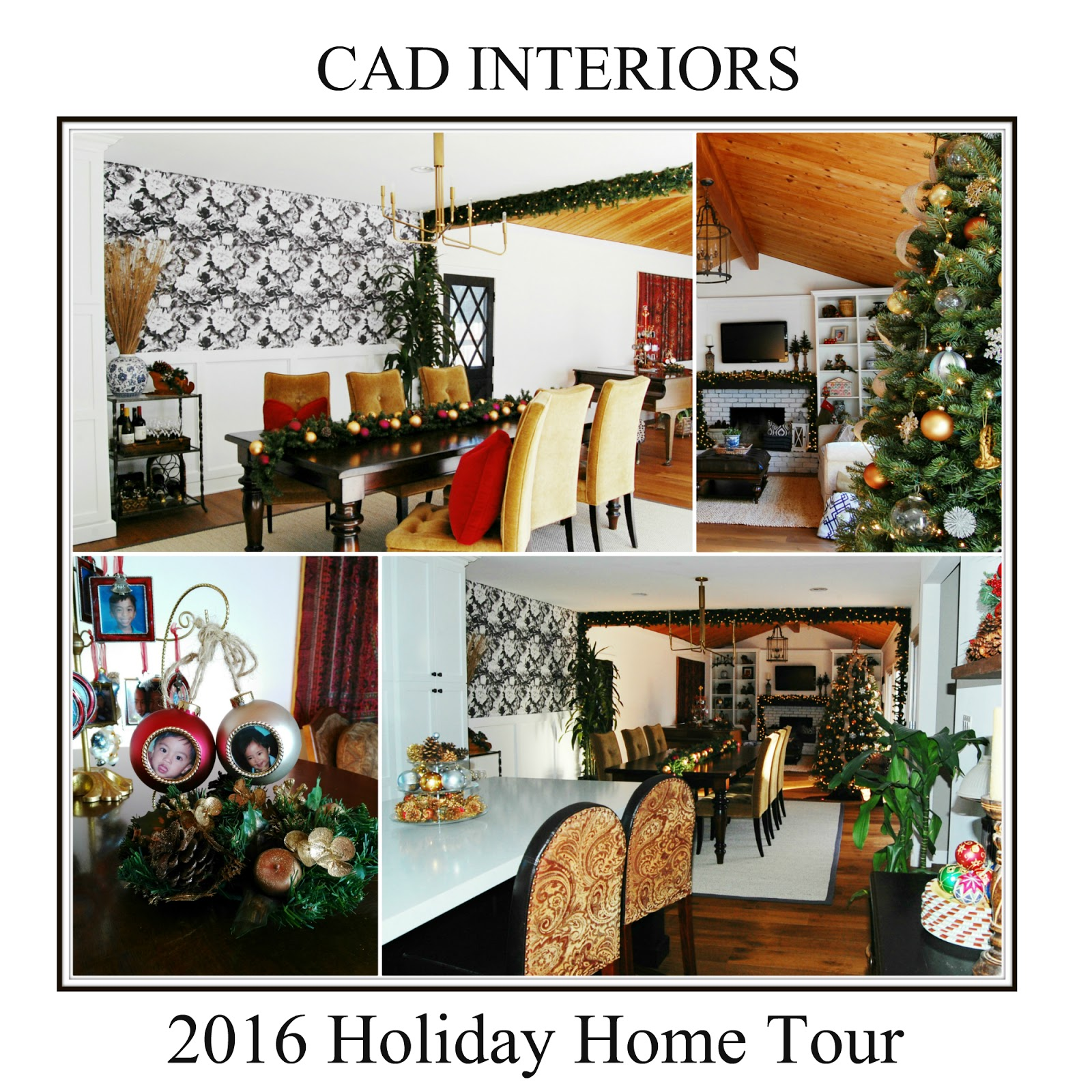 eclectic blogger winter home tour