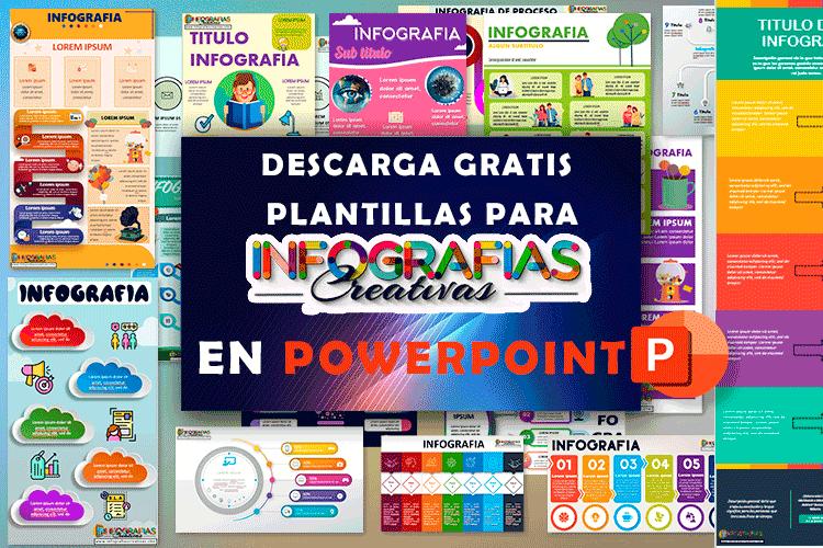 plantillas para infografías en PowerPoint para descargar gratis