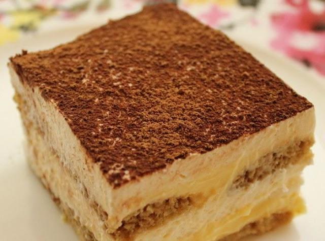Resep Tiramisu Cake Enak Mudah