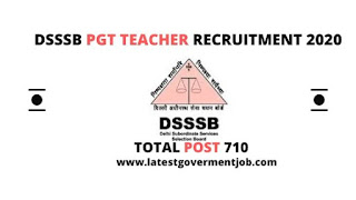 dsssb-pgt-recruitment, dsssb-pgt-exam-syllabus, dsssb-pgt-exam-date,latest-govt-jobs,