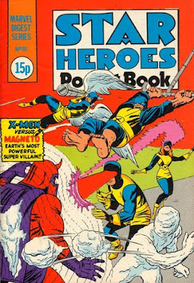 Star Heroes Pocket Book #10, the X-Men