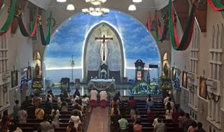 Gereja Katedral Medan Perketat Protokol Kesehatan dan Batasi Jemaat Saat Misa Natal