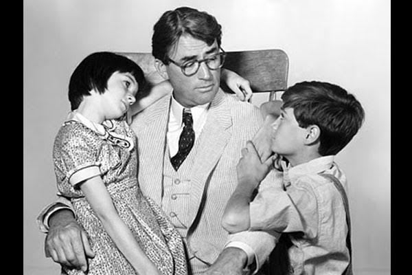 atticus and scout finch relationship