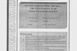 SOAL TPM IPA KABUPATEN SLEMAN 2015 (Paket 36-40)