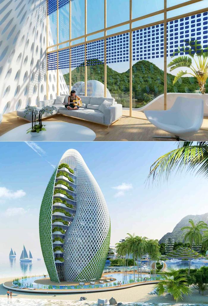 futurix nautilus eco resort eco architettura biomimetica