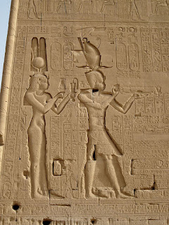 Cleopatra y Cesarión