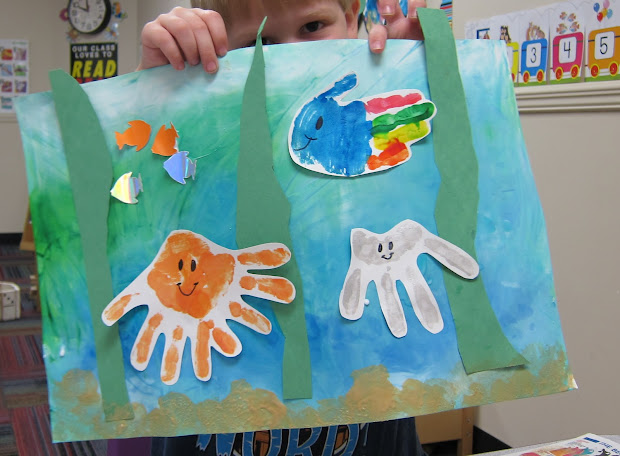 Ocean Theme Preschool Craft Ideas