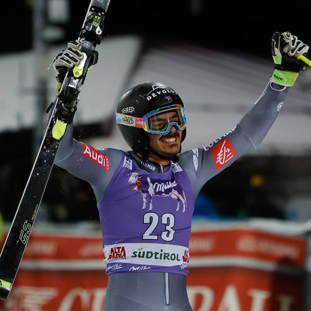 Cyprien Sarrazin Claims Victory in Alta Badia Parallel Giant Slalom