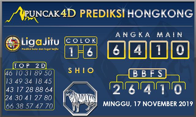 PREDIKSI TOGEL HONGKONG PUNCAK4D 17 NOVEMBER 2019