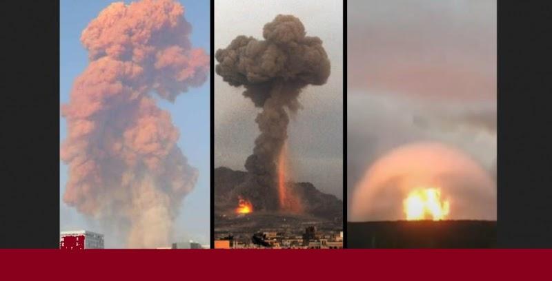 Podrían Estar Utilizando Armas Nucleares Tácticas en La Explosión de Beirut
