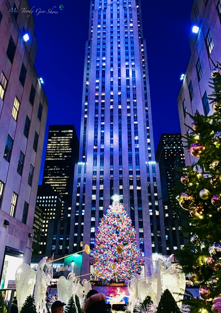 "Yes, you can visit the Rockefeller Center Christmas Tree in 2020 - but you need to know the ""New Rules. _ Ms. Toody Goo Shoes"