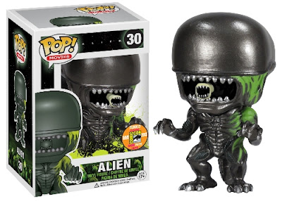 San Diego Comic-Con 2013 Exclusive Blood Splattered Alien Pop! Vinyl Figure by Funko