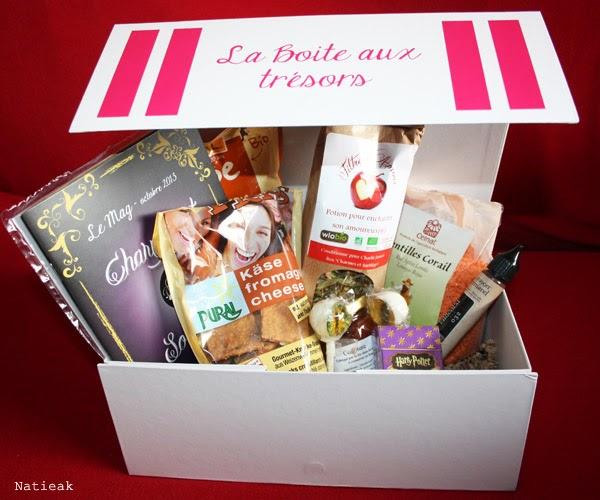 Box alimentaire : Charlie Jasmin  halloween
