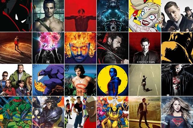 Series basadas en cómics y de superhéroes