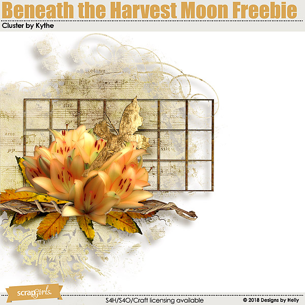 .::Beneath the Harvest Moon Freebies by Kythe::.